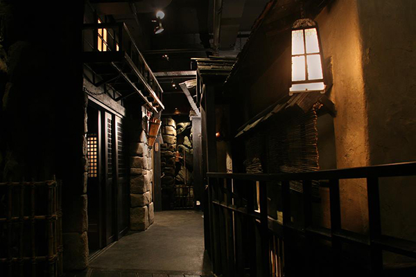 An interior view of Ninja New York.