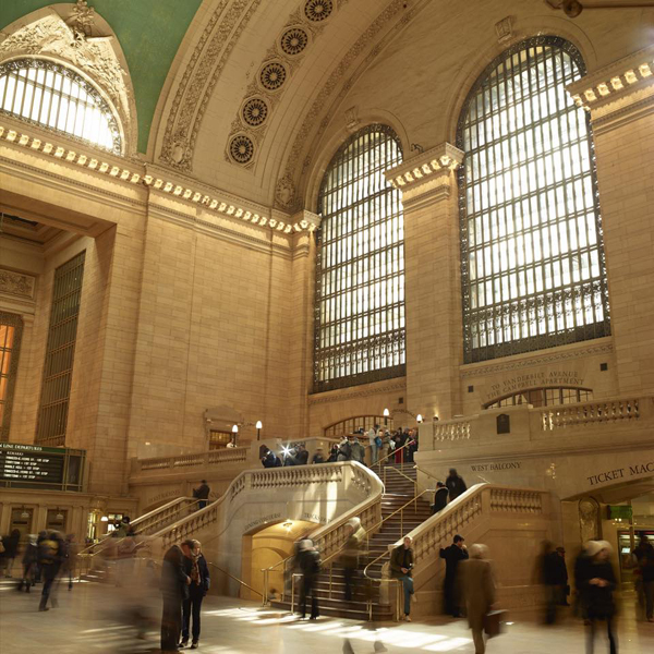 An interior view of Grand Central Terminal.