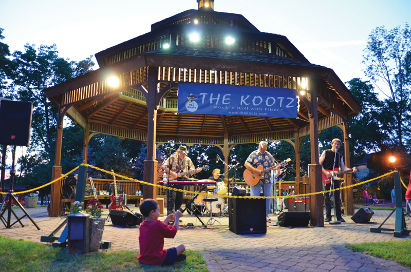 the kootz concert in haverstraw
