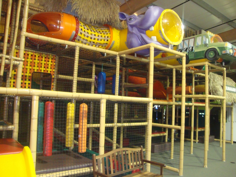 The play area at Safari Adventure