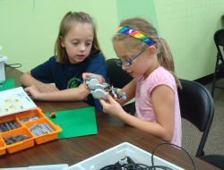 children learn robotics