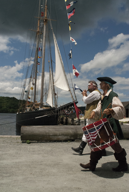 independence day at mystic seaport in ct