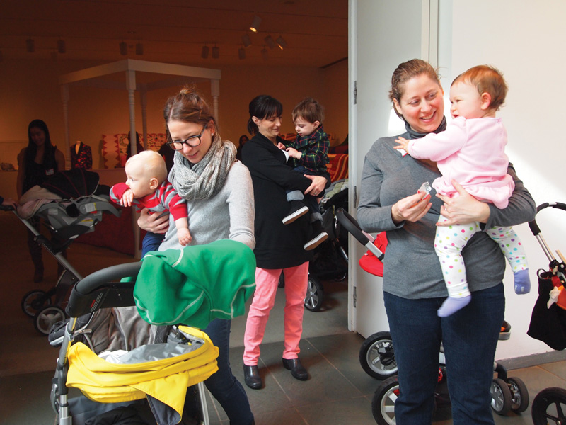 stroller tour at katonah museum