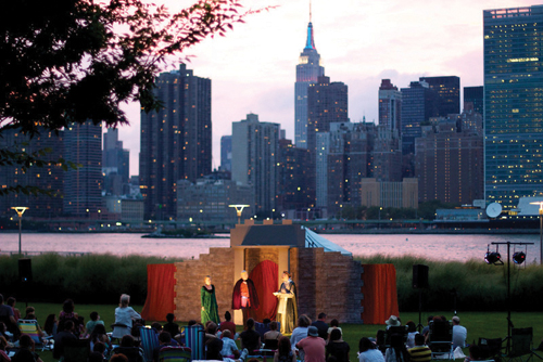 shakespeare in the park bayside queens
