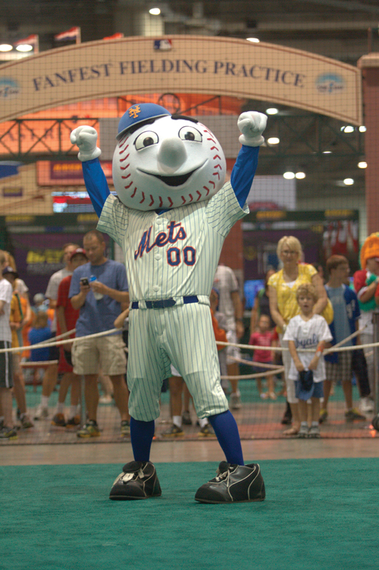 Ny mets mascot for Fun things to do in manhattan