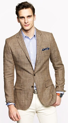 J.Crew Glen plaid sport coat