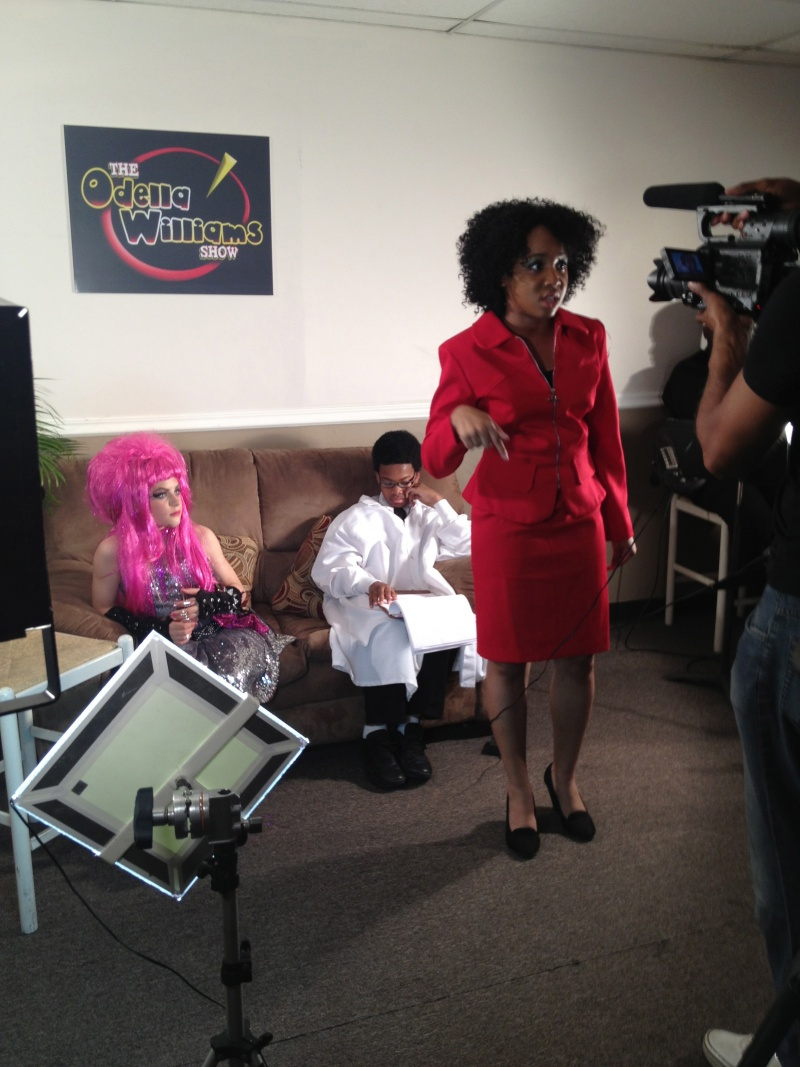 students star in The Odella Williams Show