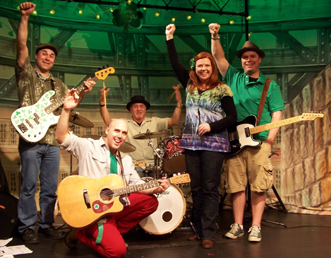 darlene graham and the shades of green band