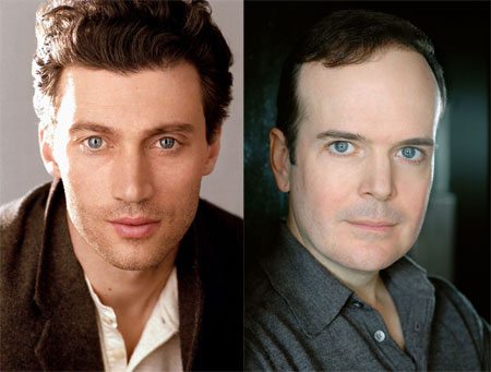 Bryce Pinkham and Jefferson Mays