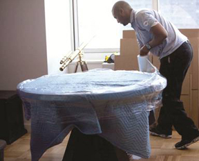 protect valuable items when moving