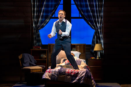 Norbert Leo Butz in Big Fish on Broadway
