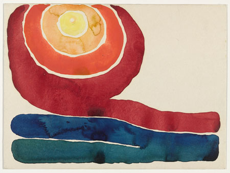Georgia O'Keeffe - Evening Star, No. III
