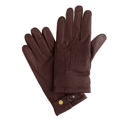 Dents Heritage Collection Hand-Sewn Cashmere-Lined Deerskin Gloves