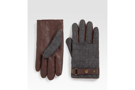 Scotch & Soda Tweed Gloves
