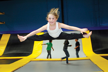 bounce trampoline sports long island