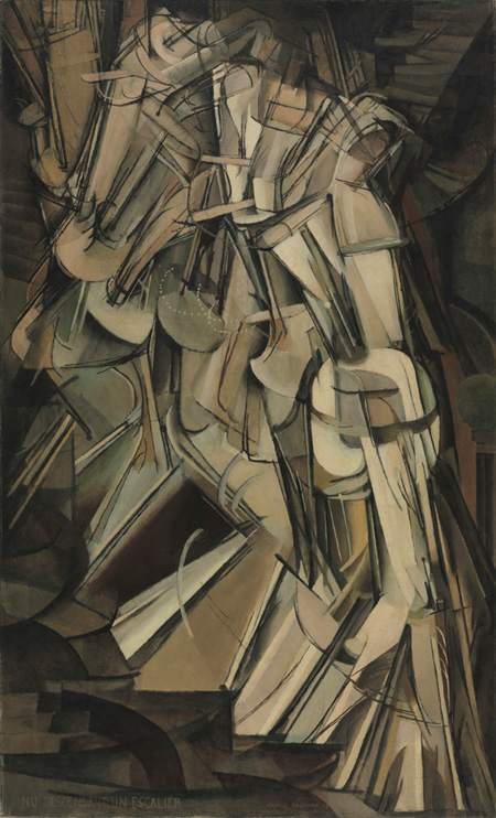 Duchamp's Nude Descending a Staircase (No. 2) (1912)