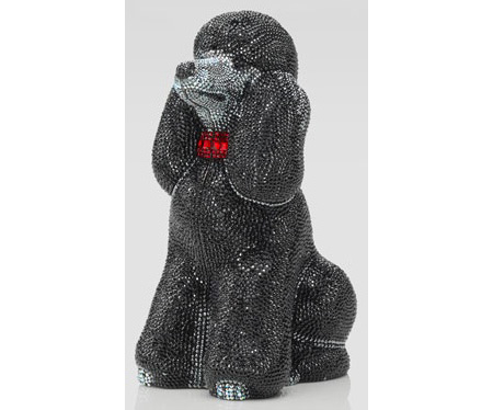 Judith Leiber French poodle clutch