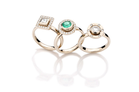 Yael Sonia engagement rings