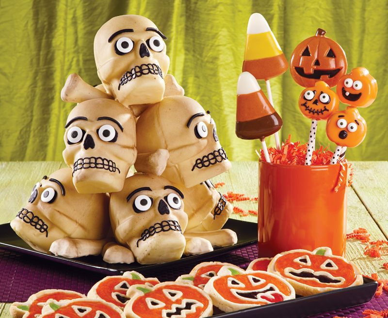 halloween cookies and treats
