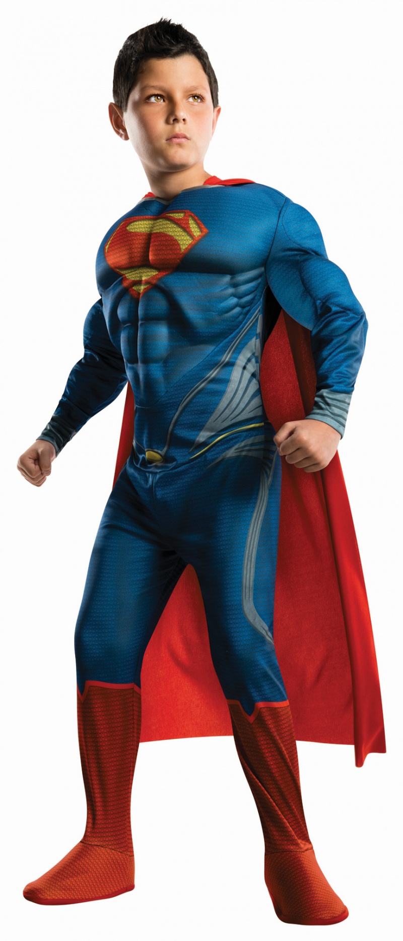 Boy wear Superman Halloween costume