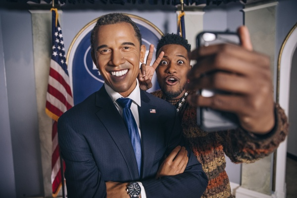 Madame Tussauds Obama