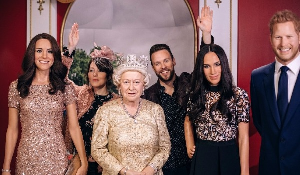 madame tussauds times square royal family