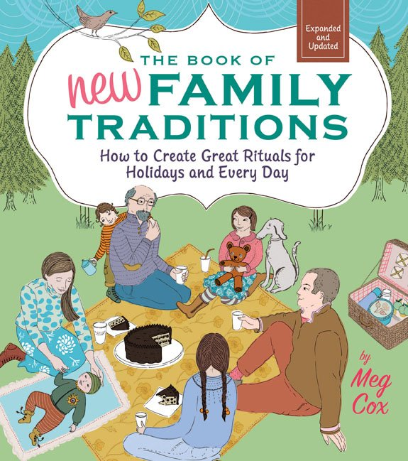 The Book of New Family Traditions book cover