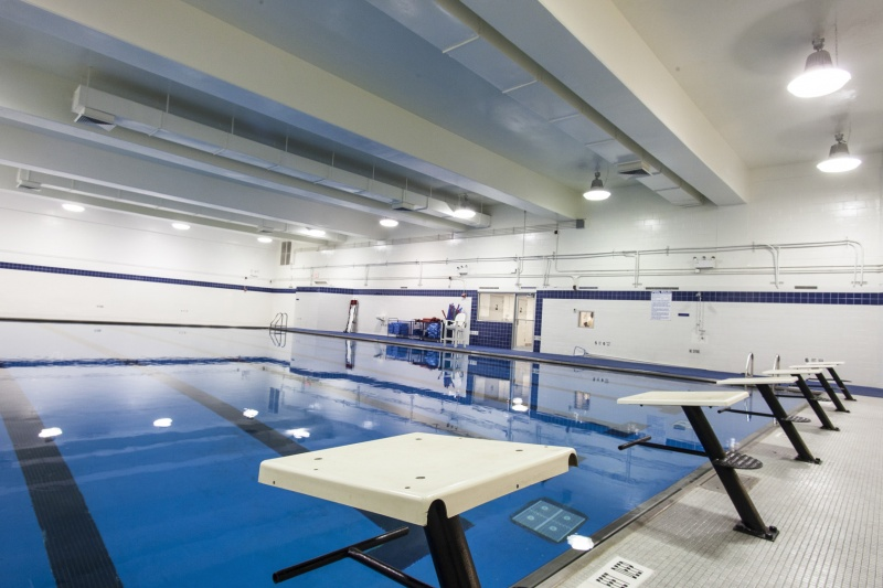 dwight school swimming pool