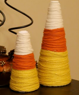 candy corn cone decorations