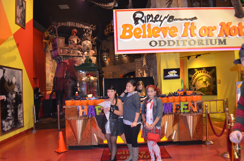 ripley's believe it or not times square halloween slumber fest