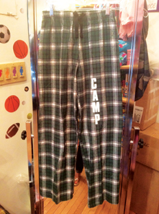 custom flannel pj pants from Appliké Couture