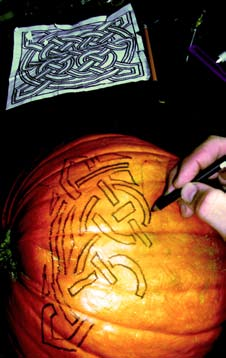 pumpkin carving design