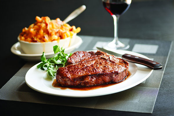 Morton's the Steakhouse in NYC Christmas Menu