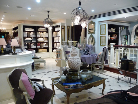 Yves Delorme bed and bath NYC