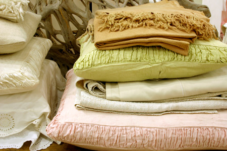 ABC Carpet & Home linens in NYC