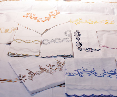 Harris Levy Linens NYC