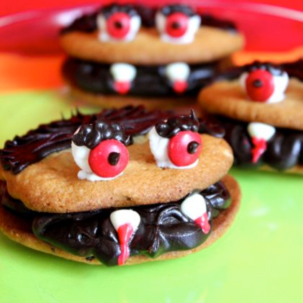 vampire chocolate chip cookies