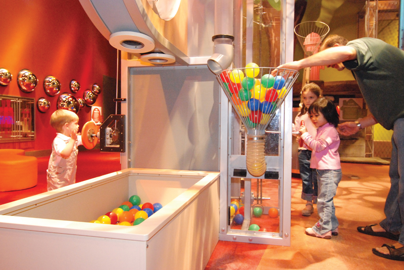 kids exhibit at liberty science center nj