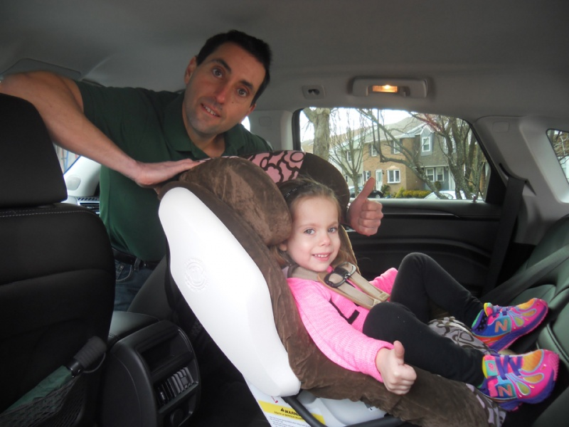 And Car Seat Installation At Your Home Brett Solomon His Daughter