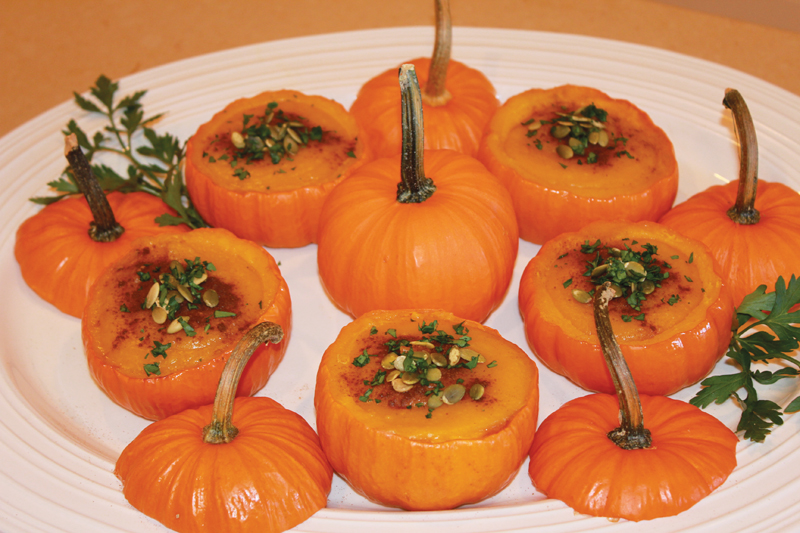 fall pumpkin side dish