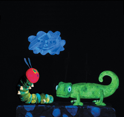 very hungry caterpillar live