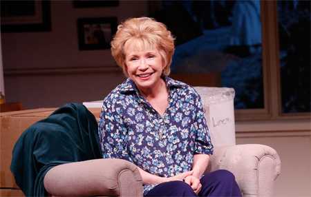 Debra Jo Rupp as Dr. Ruth Westheimer in Becoming Dr. Ruth Off Broadway