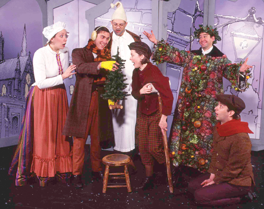a christmas carol theatre three