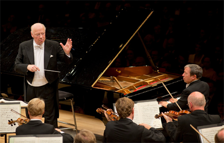 Bernard Haitink to lead the Boston Symphony Orchestra with Murray Perahia at Carnegie Hall