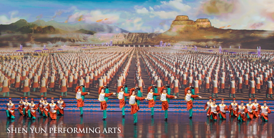 Shen Yun Performing Arts Recalling the Great Qin