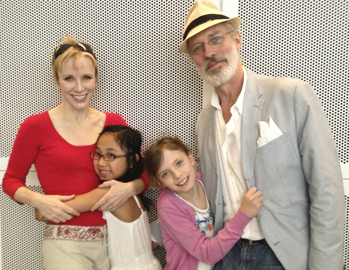 charlotte terry and kids from pippin