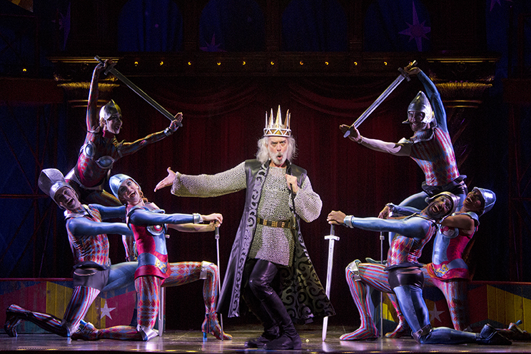 king charles in pippin on broadway