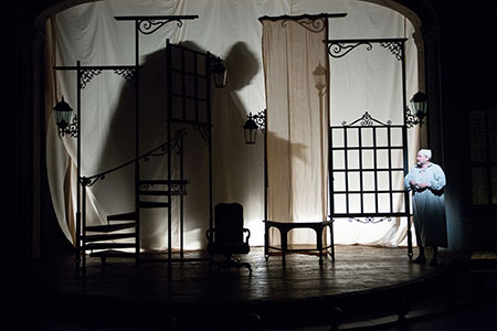 A scene from Patrick Barlow's A Christmas Carol