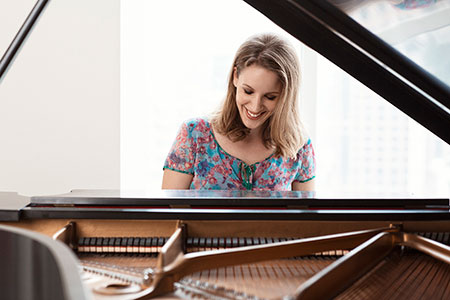 Jessie Mueller as Carole King in Beautiful - The Carole King Musical