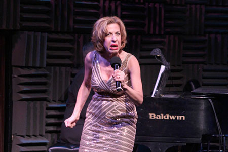 Jackie Hoffman performing at Joe's Pub